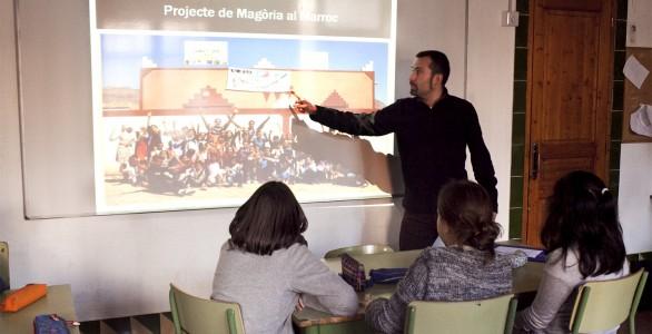 Activitat a l'Escola Magòria